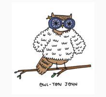Owl-ton John Kids Clothes
