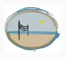 beach volleyball landscape by wannabeach