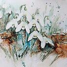 Snowdrop by Bev  Wells