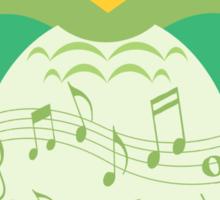 The Melodic Bird Sticker