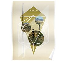 Cubed Nature Poster