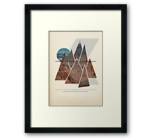 Leave Home Framed Print
