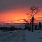Country Sunset by Todd Weeks