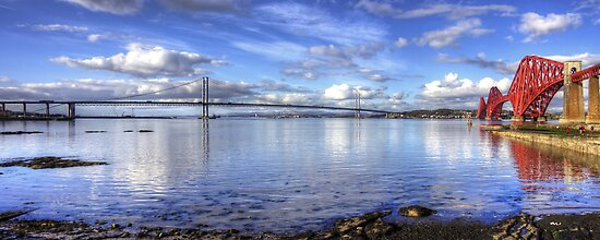 The Crossings on the Forth by Tom Gomez