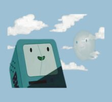BMO and Bubble by SociallyAwkward