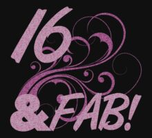 16 And Fabulous Birthday by thepixelgarden