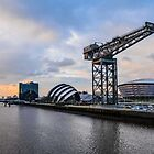 Clydeside Sunset by Stevie B