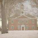 1776 Courthouse In the Snow by WeeZie