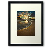 His Name Be Praised Framed Print