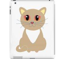 One and Only One Cream Colored Kitty iPad Case/Skin
