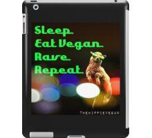 Vegan rave iPad Case/Skin