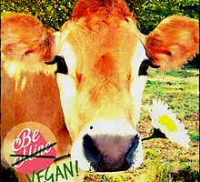 Sexy Valentine's Cow by thehippievegan
