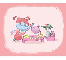 Little Robot: Tea Party by jeffpina78