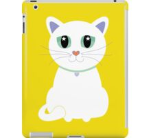 Only One White Kitty With Collar iPad Case/Skin