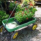 John Deere Wagon by WildestArt