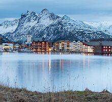 Svolvaer - Lofoten Islands, Norway by Kellie Netherwood
