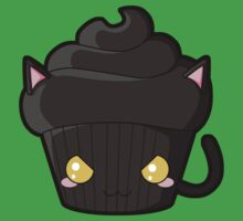 Spooky Cupcake - Black Cat Kids Clothes