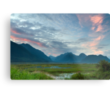 Pitt-Addington Marsh Sunset Metal Print