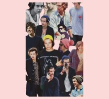 Harry Styles Collage Shirts/Cases/Pillows/Cards Kids Clothes