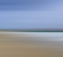 Luskentyre - Isle of Harris - Abstract by English Landscape Prints