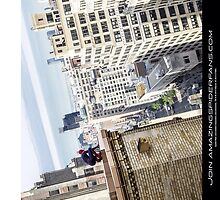 Amazing spidey view by LastLaughInk