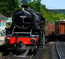 Grosmont Railway Station by English Landscape Prints