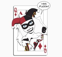 Harley Quinn Game Card by mercury221