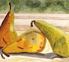 Pears Ripening on the Windowsill by AngieDavies