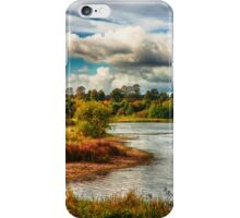 View Across the Reservoir iPhone Case/Skin