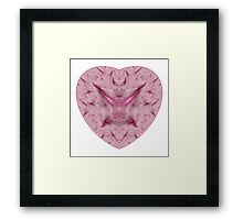 The Scars of my Heart Framed Print