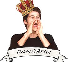 Dylan O'Brien OUR KING by Kuroko1033