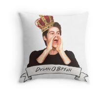 Dylan O'Brien OUR KING Throw Pillow