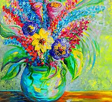 Spring in a Vase by EloiseArt