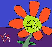 """Zombie Flower"" by Richard F. Yates by richardfyates"