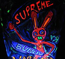 """Supreme Bunny Warlord"" by Richard F. Yates by richardfyates"