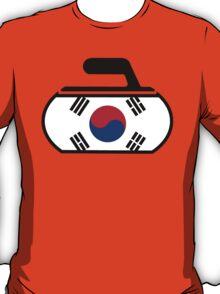 South Korea Curling T-Shirt