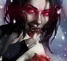 Vampire Valentine by penguinstein