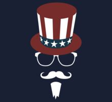 Hipster Uncle Sam by starstreamdezin