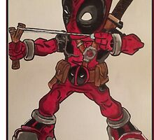 deadpool by DisgruntledDve