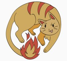 Fire Cat by SaradaBoru
