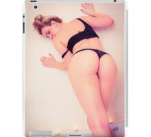 hot blonde  iPad Case/Skin