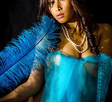 Blue Feather 9 by robjohnson333