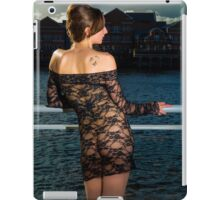 balcony look out  iPad Case/Skin