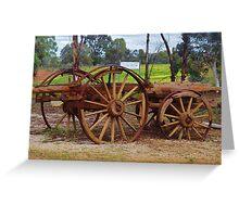 Farm Cart (retired!) Greeting Card