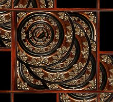 Ornament Wood Composition by DFLC Prints