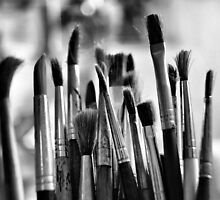 brushes by karolinatrojka
