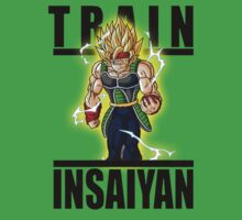 Train Insaiyan Majin Bardock by BadrHoussni