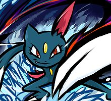 Sneasel | Night Slash by ishmam