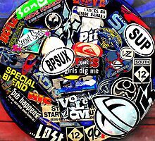 Spare Tire *pOp aRt* by Susan Werby