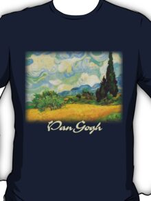 Vincent Van Gogh - Wheat Fields with Cypress T-Shirt